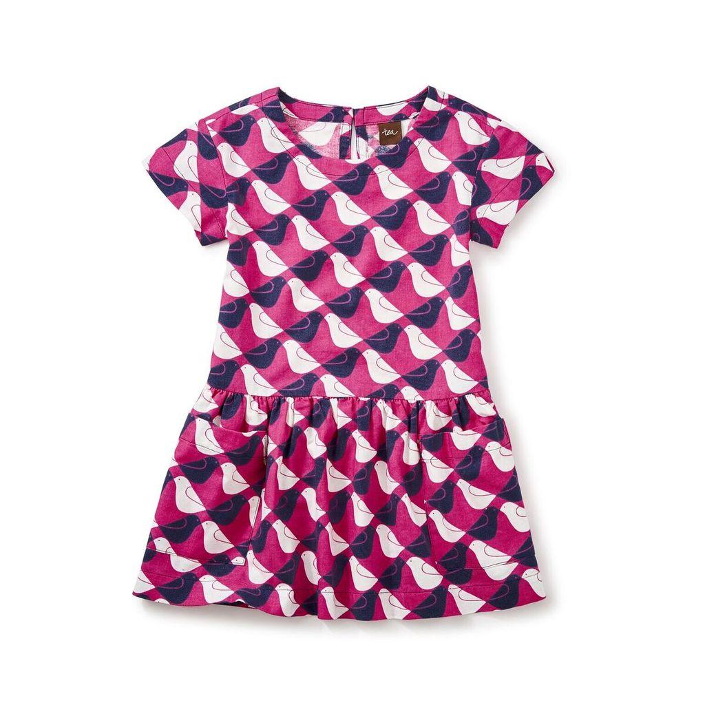 master argyle birds pocket dress