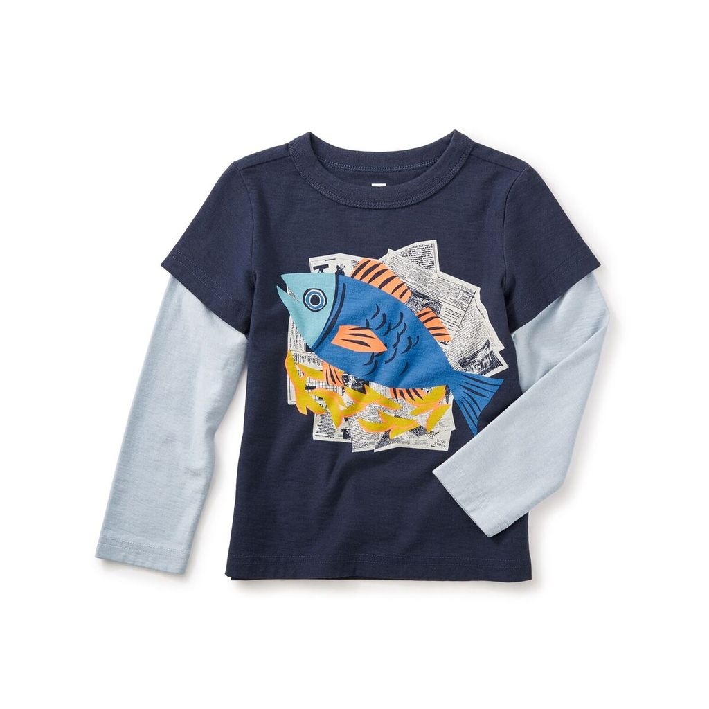 master fish and chips graphic tee