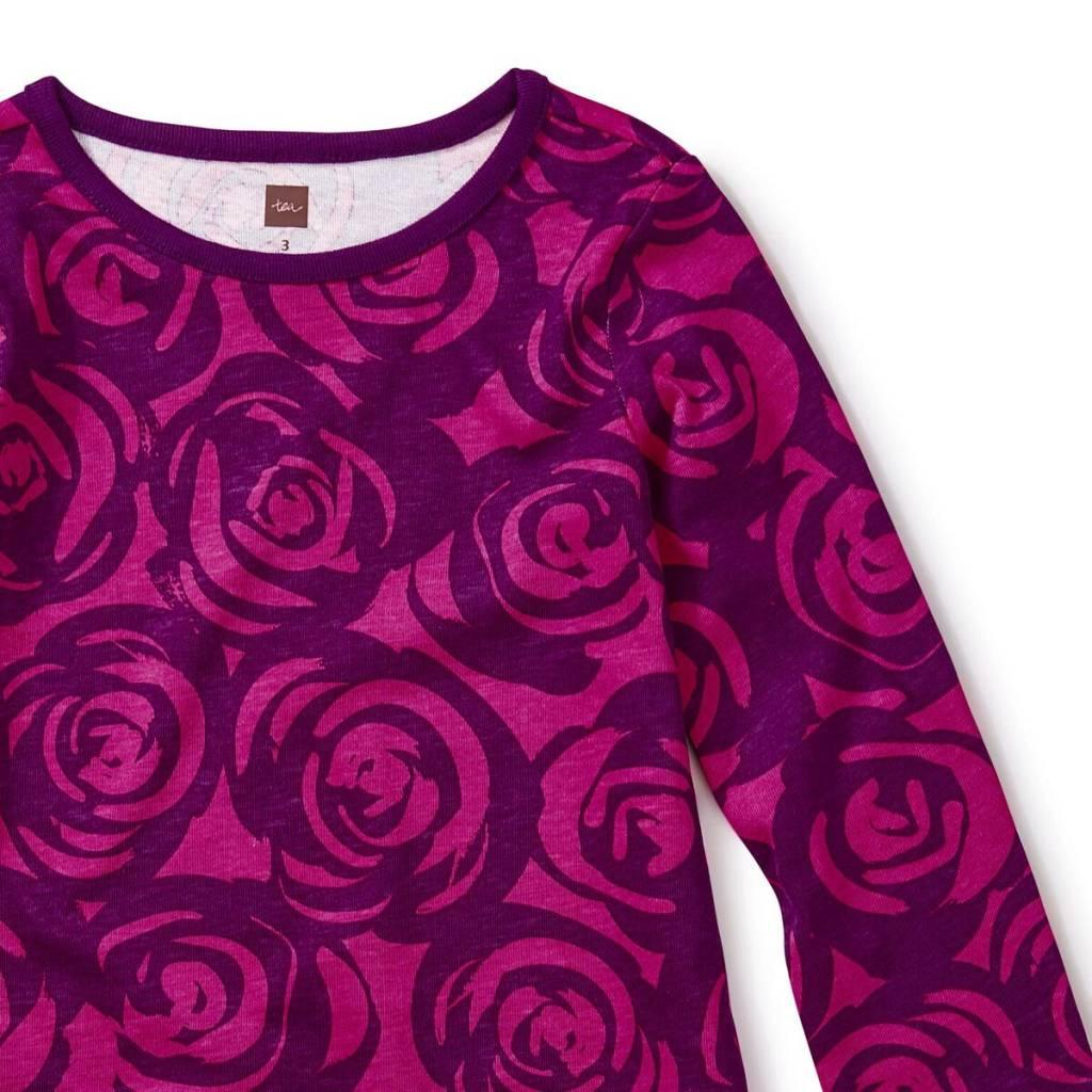 master rennie rose ruffle dress