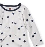 master moggy cat ruffle baby dress