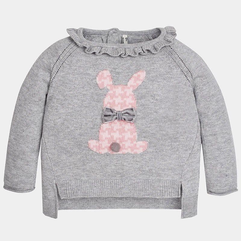 baby girl bunny sweater