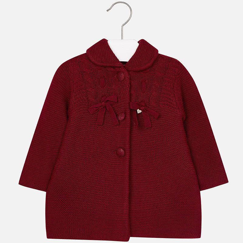baby girl knit coat
