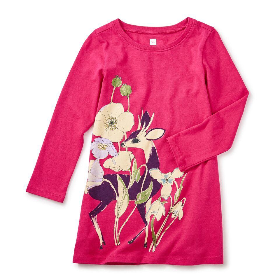 girl rosemarkie graphic dress, size 5
