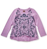 girl marsh violet twirl top, size 6