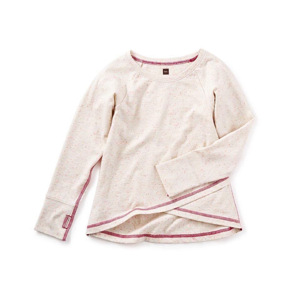 girl aberdeen asymmetrical top, size 6