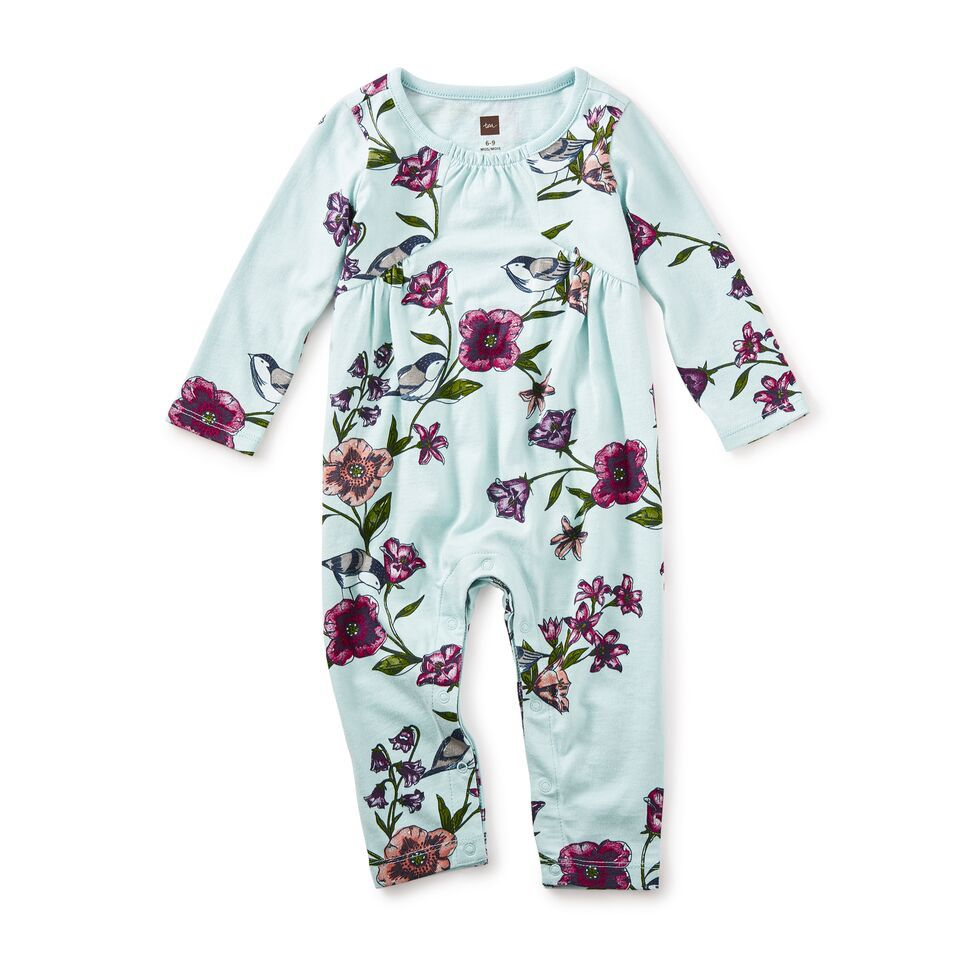 little girl glenna pieced romper, 6-9m
