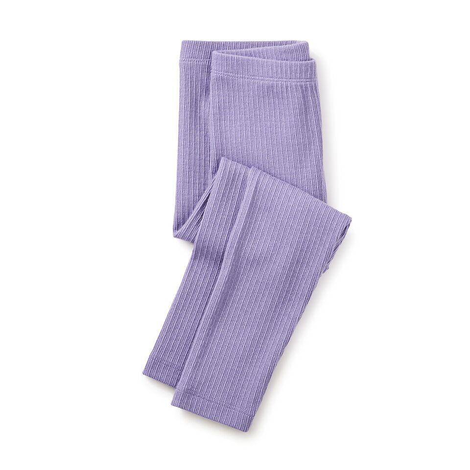 girl pointelle leggings, taffy, size 5