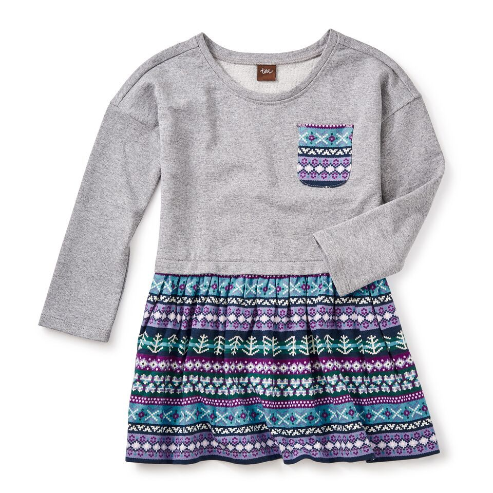 girl islay skirted dress, size 6