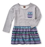 girl islay skirted dress, size 5
