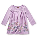 little girl thistle graphic dress, 9-12m