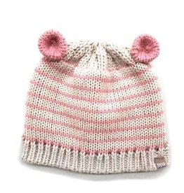 fashion accessory striped mouse ears beanie