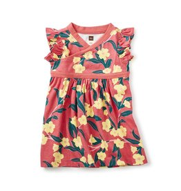 master *sale* tea collection adelaide wrap neck baby dress