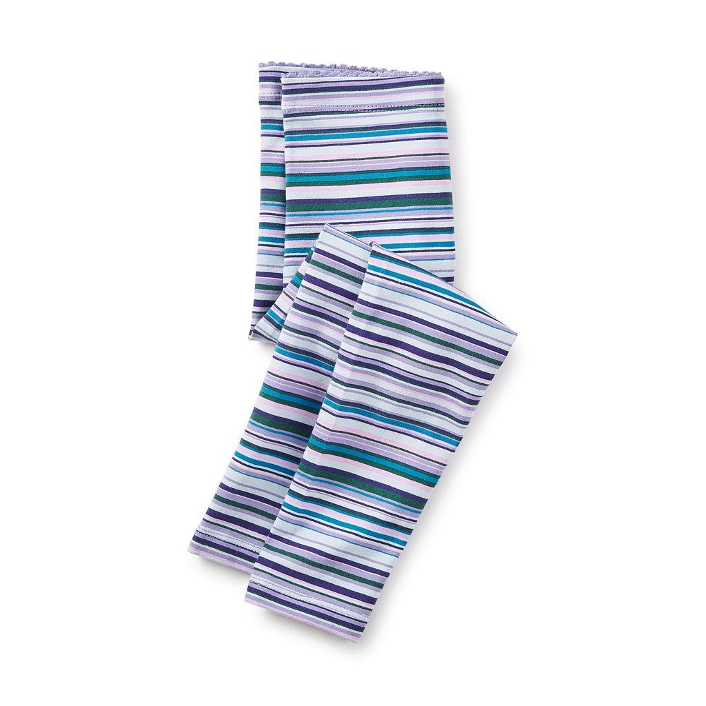 girl multistripe leggings, taffy, 6