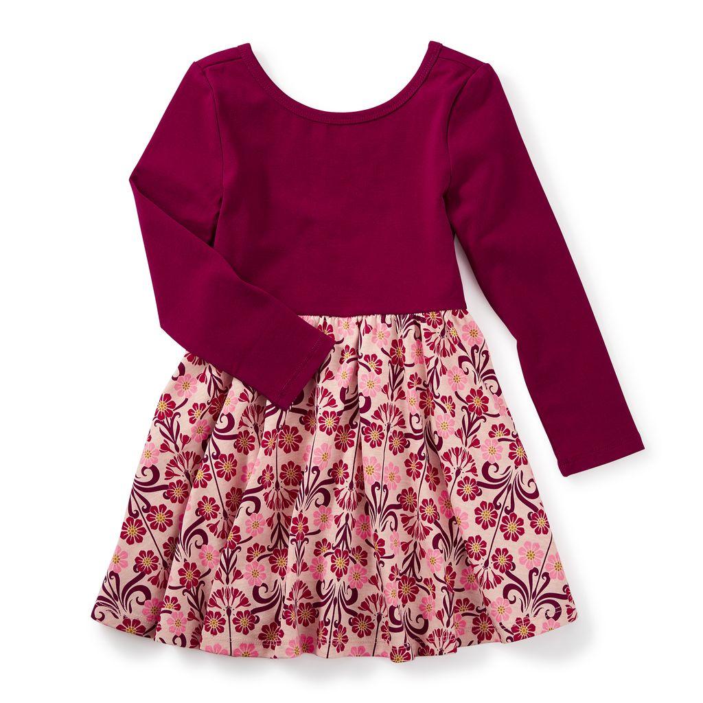 girl dahlia skirted dress, 8
