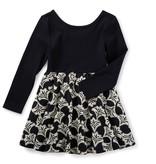 girl aven skirted dress, 7