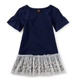 girl ottie embroidered tulle dress, 5