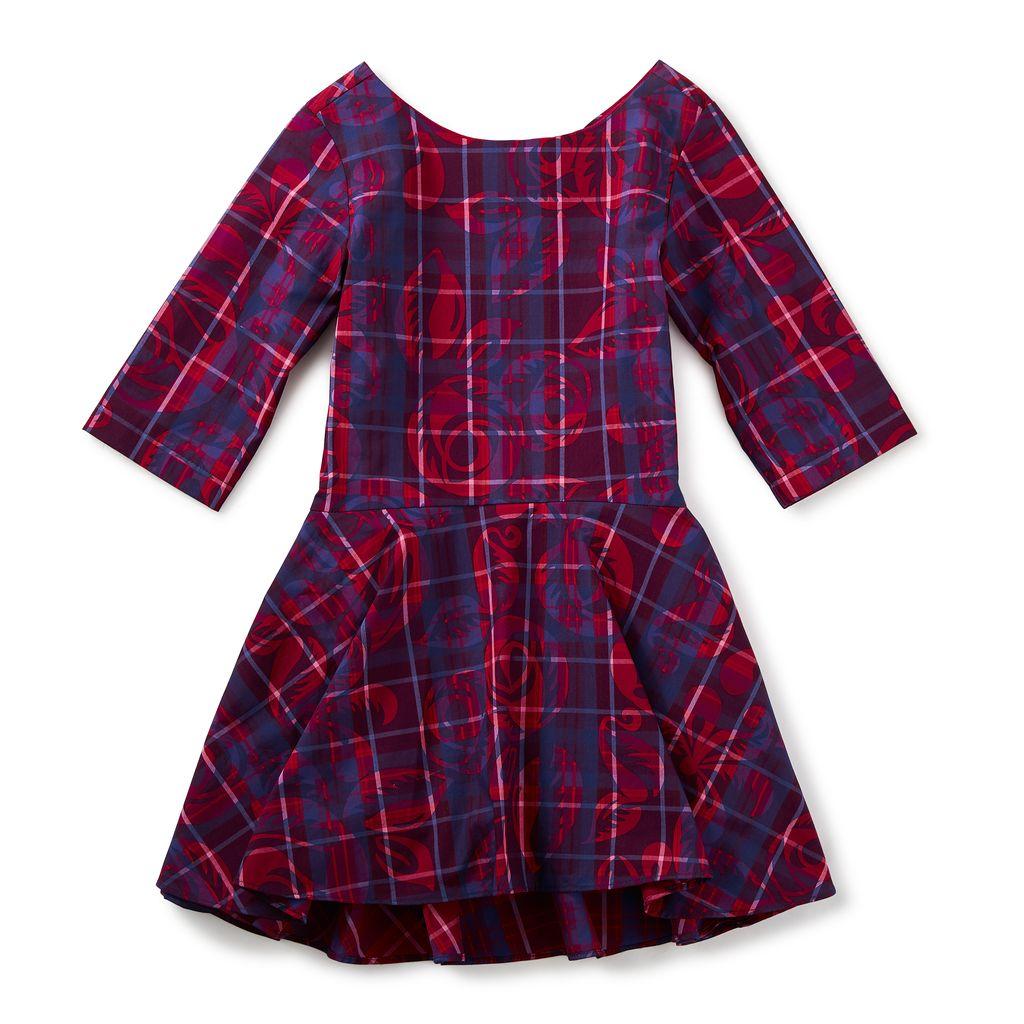 girl culzean castle ruffle dress, 8