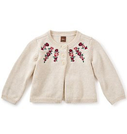 master *sale* tea collection eleanor embroidered cardigan