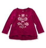 little girl cally graphic tee, 12-18m