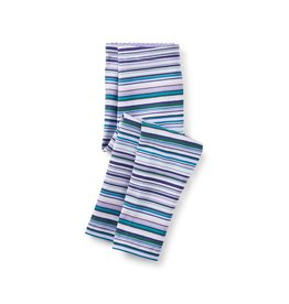 little girl multistripe baby leggings, taffy, 6-9m