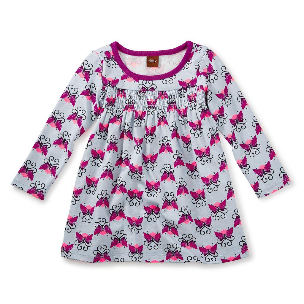 little girl beitiris smocked dress, 6-9m