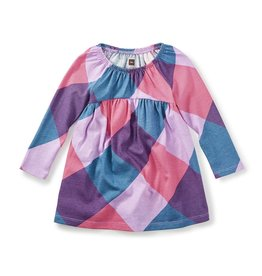 little girl annella empire baby dress, 9-12m