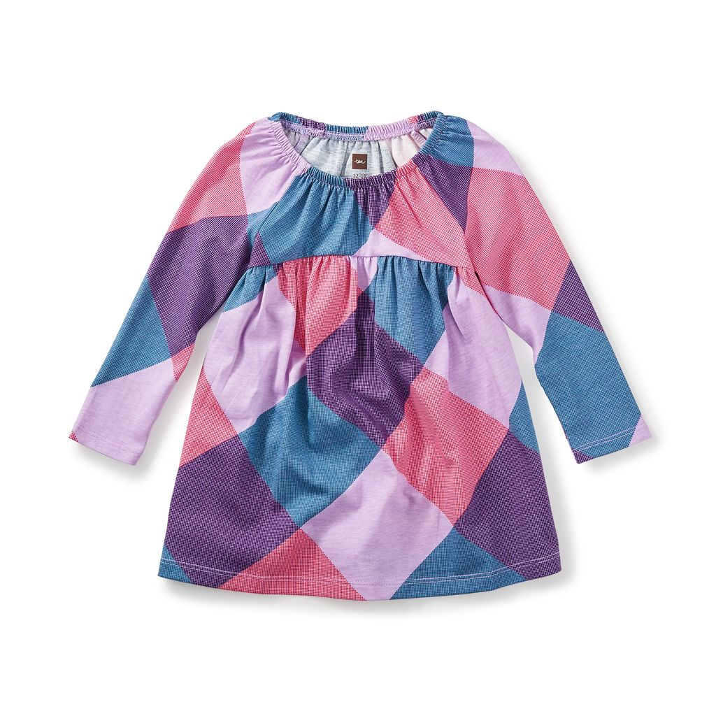 little girl annella empire baby dress, 12-18m