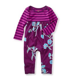 little girl marjorie two-tone romper, 3-6m