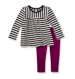 little girl *sale* tea collection jura baby outfit, 9-12m