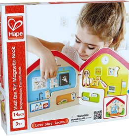 playtime Hape Magnetic Book