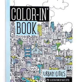 playtime travel size color-in book: urban cities