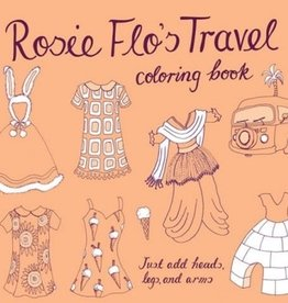 playtime Rosie Flo's Travel Coloring Book