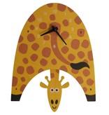 decor modern moose giraffe pendulum