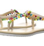 girl yosi samra pom pom sandal