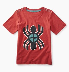 toddler boy berry water spider graphic t, rustic red, 3