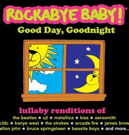 playtime Rockabye Baby CD: Good Day/Goodnight
