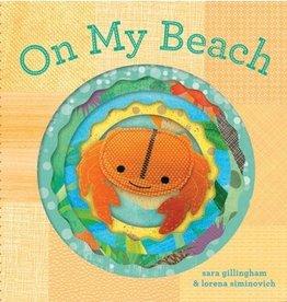 book on my beach: finger puppet book