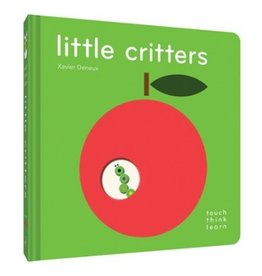 book touch think learn: little critters