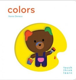 book touch think learn: colors
