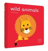 book touch think learn: wild animals