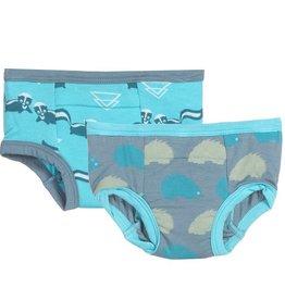 toddler girl kickee pants training pants set