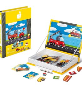 playtime vehicles magnetic book