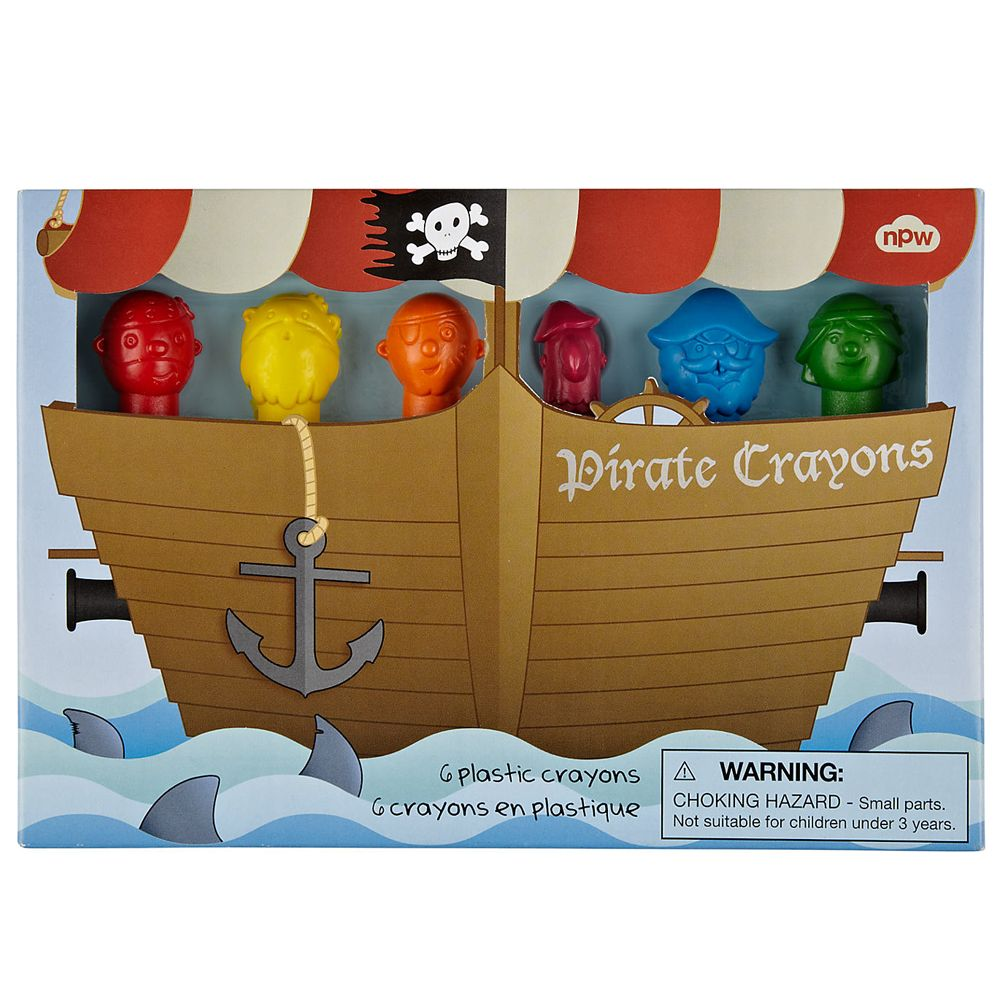 playtime pirate crayons