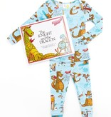 boy knight and the dragon pajama and book set