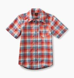 boy plaid ss button shirt, dressy plaid, 5