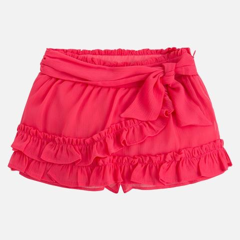 girl tropical skort