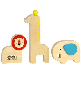 playtime petit collage wooden musical instruments