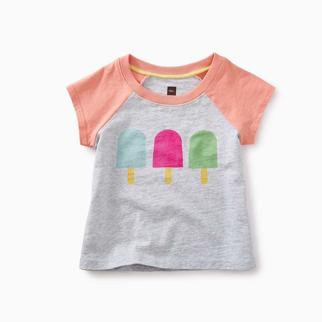 master ice pop graphic baby tee
