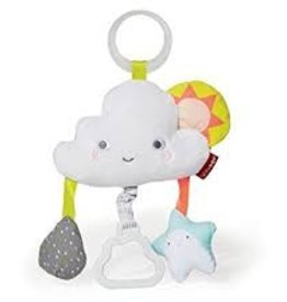 functional accessory Skip Hop silver lining cloud jitter stroller toy