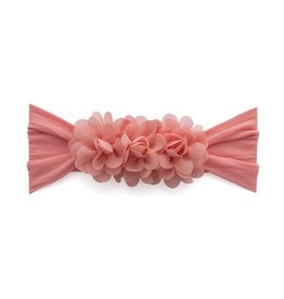 hair baby bling chiffon flower headband